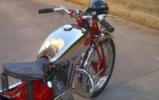 Cromatura motocicli d'epoca