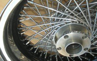 Cromatura cerchioni auto e moto